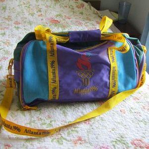Vintage 1996 Atlanta Olympics Duffel Bag
